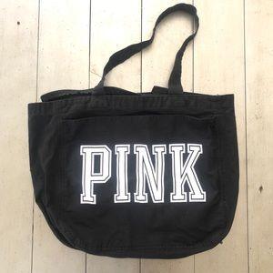 Pink by Victoria's Secret Black Tote Bag